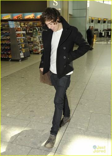 Harry Styles: L.A. Landing