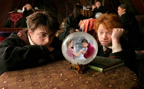 Harry and Ron are dreamin' about...