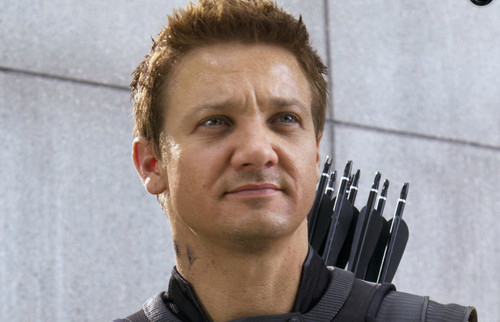 Jeremy Renner wallpaper with a green beret and battle dress entitled Hawkeye