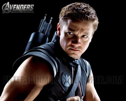 Jeremy Renner wallpaper titled Hawkeye