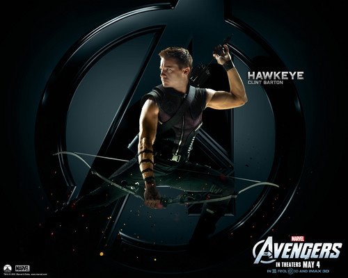 The Avengers wallpaper possibly containing a turntable entitled Hawkeye