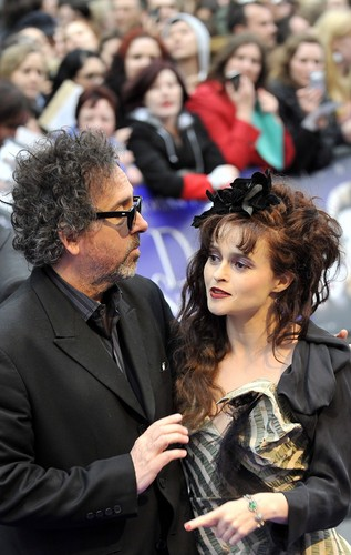 Helena Bonham Carter - Dark Shadows Londres Premiere