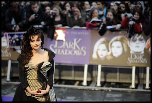 Tim Burton's Dark Shadows wallpaper titled Helena Bonham Carter - Dark Shadows London Premiere