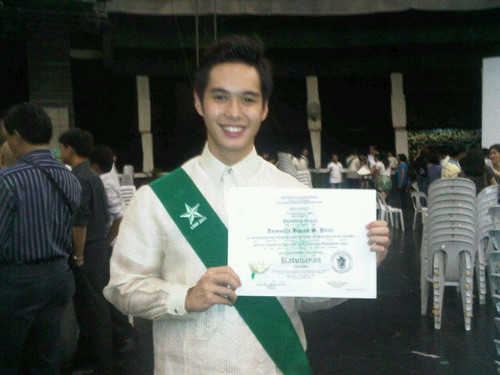 His graduation on March 20 2011
