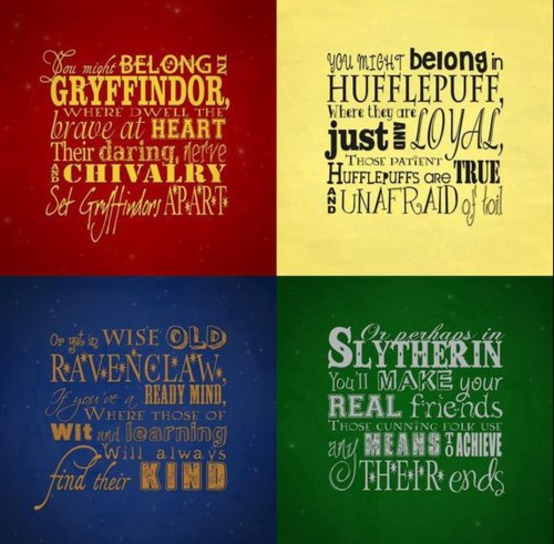Harry Potter wallpaper called Hogwarts houses