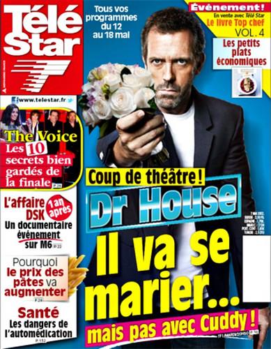 Hugh Laurie-(HouseMD) Télé étoile, star may 2012