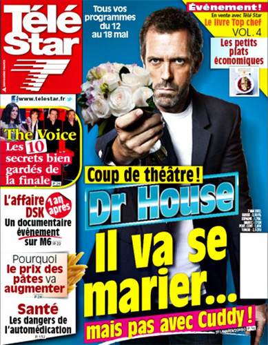 Hugh Laurie-(HouseMD) Télé звезда may 2012