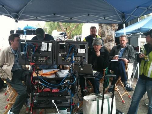 Hugh Laurie and Robert S.Leonard- Set House MD season8 8x20
