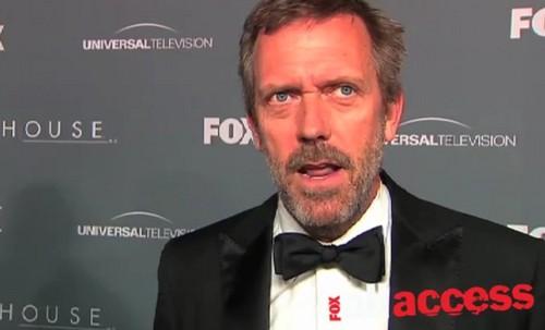 Hugh Laurie- tongue