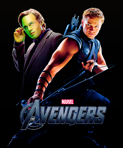 Hulk and Hawkeye