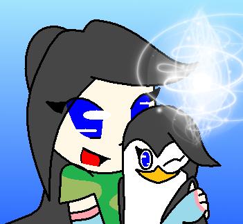 Humanized with penguinized