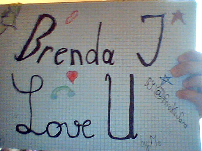 I have made it for my little princess Brenda <3