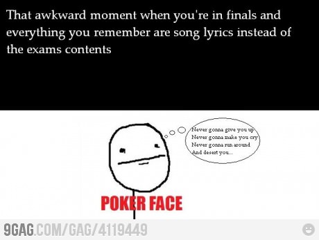 I know that feeling..