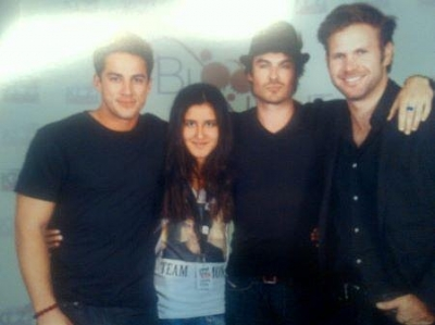 Ian @ Bloody Night Con - ian-somerhalder Photo