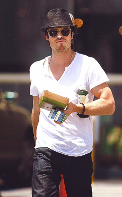 Ian Getting Lunch at Whole Foods 10/05/2012