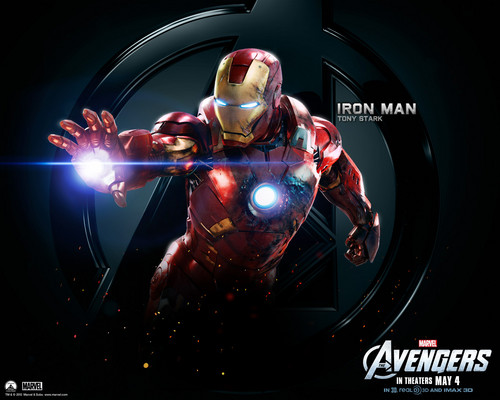 The Avengers kertas dinding entitled Iron Man