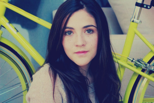 The Hunger Games wallpaper probably with a velocipede, a bicycle, and a portrait called Isabelle Fuhrman