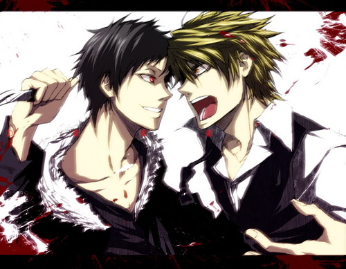 Izaya and Shizuo