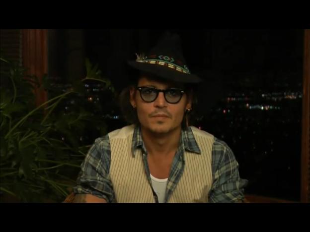 JD美 Johnny Depp's message for Dad Award 2012