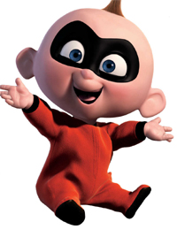 Disney wolpeyper called Jack-Jack from The Incredibles