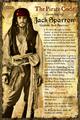 Jack Sparrow's Pirate Code