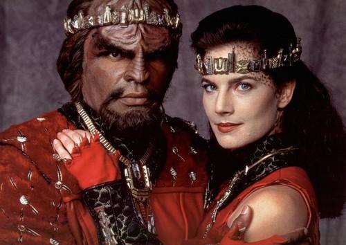 Jadzia & Worf