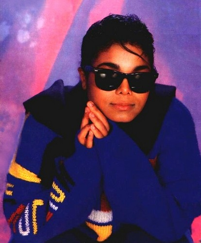 Janet Jackson wallpaper with sunglasses entitled Janet