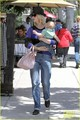January Jones & Baby Xander: Friday Lunch - january-jones photo