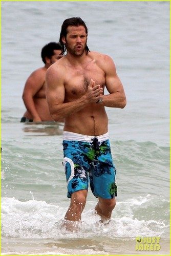 Jared Padalecki: Shirtless in Rio