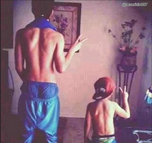 justin & jaxon, bieber, to, be, like, his, older, brother
