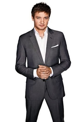 Jeremy Renner wallpaper containing a business suit, a suit, and a double breasted suit titled Jeremy Renner
