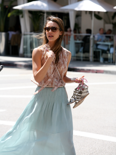 Jessica - Out in Beverly Hills - April 28, 2012