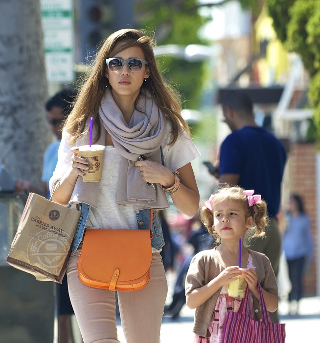 Jessica - Out in Los Angeles - April 03, 2012