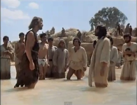 Jesus Of Nazareth - John The Baptist & Jesus, along with Followers