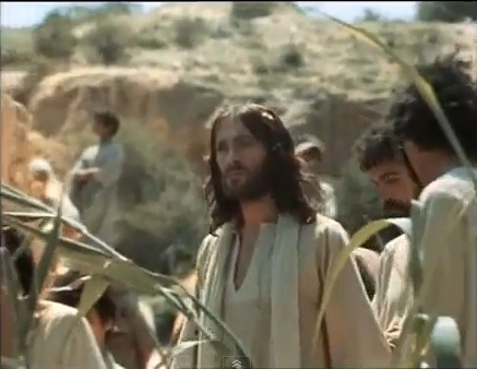 "Jesus wallpaper titled John The Baptist & Jesus - ""Jesus Of Nazareth"" movie"