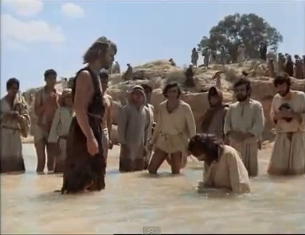 "John The Baptist & 耶稣 - ""Jesus Of Nazareth"" movie"