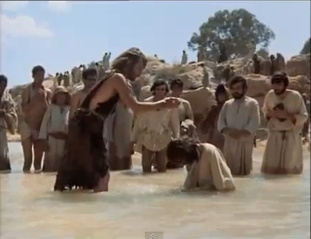 "John The Baptist & Иисус - ""Jesus Of Nazareth"" movie"