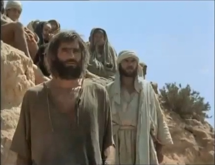 "John The Baptist & Gesù - ""Jesus Of Nazareth"" movie"