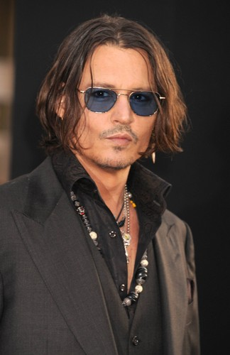 Tim Burton's Dark Shadows images Johnny Depp at Dark Shadows Premiere 2012 HD wallpaper and background photos