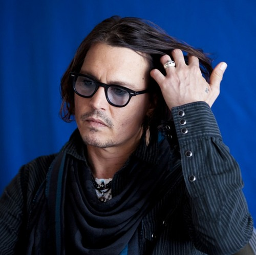 """Johnny Depp(interview)of the film""""Dark Shadows""""in Los Angeles on April29.2012"""