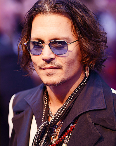 Johnny at the London Premiere 5/9/2012
