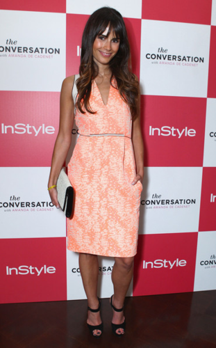 Jordana - InStyle Celebrates The Launch Of The Conversation with Amanda De Cadenet, April 17, 2012