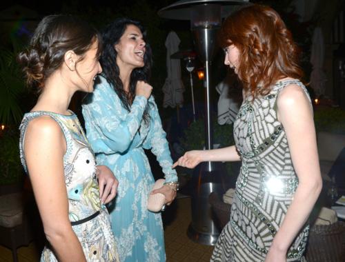Jordana - Naaem Khan Private Dinner, May 02, 2012
