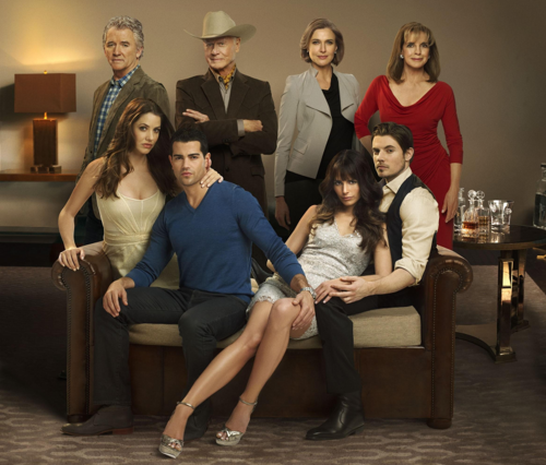 "Jordana - Promotional shoots of Jordana and the cast for ""Dallas"" Tv Serie"