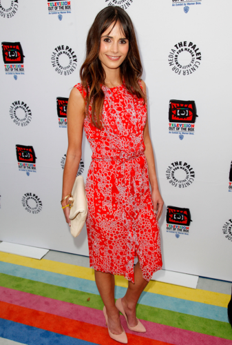 Jordana - The Paley Center's opening of télévision Out Of The Box, April 12, 2012