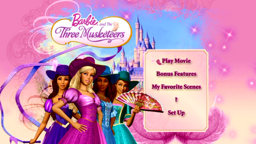 Just the main menu of the DVD
