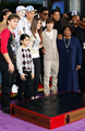 Justin Bieber with the Jackson family
