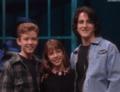 Justin, Britney, and Josh