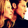 Klaus & Caroline photo containing a portrait titled KC 3x21