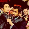 Kal Penn photo possibly containing a business suit, a portrait, and anime called Kal
